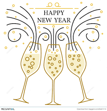 new year s chagne glasses happy new year chagne glasses the best glasses of 2018