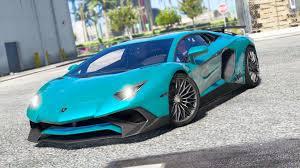 Lamborghini Aventador Sv - lamborghini aventador lp750 4 sv add on replace gta5 mods com