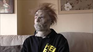 wearing my rz h2 destroyer exposed michael myers mask youtube