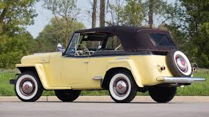 willys jeepster 1949 willys jeepster vj3 6 convertible s104 chicago 2015