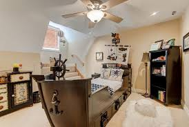 Ceiling Fan Size Bedroom by Eclectic Kids Bedroom With Flush Light U0026 Carpet In Springfield Mo