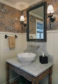 Vanity Powder Room Mirrored Bathroom Vanity Powder Room Traditional With Bathroom