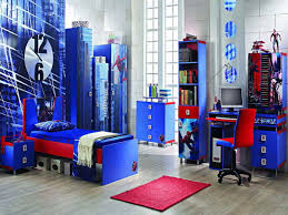 Image Red Blue Engaging Bedroom Ideas For Boys As Boy To The - Blue bedroom ideas for boys