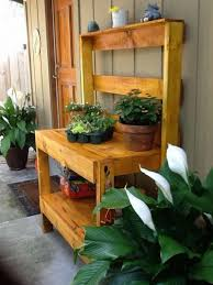 build a potting bench this spring networx