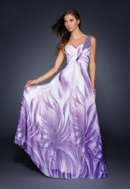 blog of wedding and occasion wear print long dresses for 2013