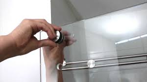 Glass Shower Door Handle Replacement Parts by Installation Video Of The Miami Barn Door Shower System Youtube