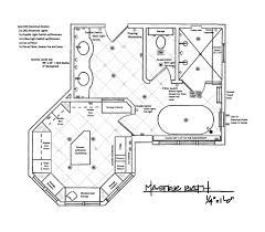 modern bathroom floor plans master bedroom and bath floor plans images bathroom remodel plan