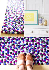 Fashion Rugs Felt Ball Rugs At Home In Love