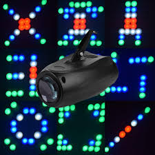 Laser Christmas Light Projector by Mini Disco Led Active Club Party Laser Projector Rgbw 10w 64 Led