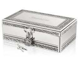 engravable box silver jewelry box etsy