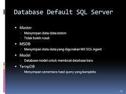 membuat database baru di sql server sql server ppt download