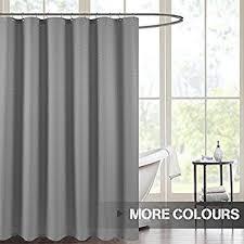 Geometric Burnout Shower Curtain Tan Amazon Com Threshold Shower Curtain Blue Waffle Home U0026 Kitchen