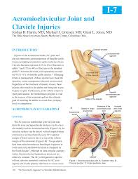 acromioclavicular joint and clavicle injuries pdf download available