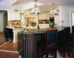 magnificent kitchen island counter height with chicken mural tiles
