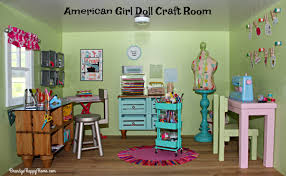 Craft Room Images by American Dollhouse Craft Room