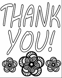 brilliant thank you colouring pages page with thank you coloring