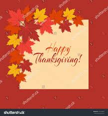 background for thanksgiving vector background thanksgiving day colorful autumn stock vector