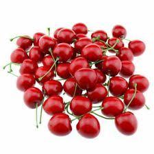 Fake Fruit Centerpieces by Fake Cherries Decorative Fruit U0026 Vegetables Ebay