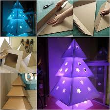 cardboard christmas tree wonderful diy cardboard christmas tree