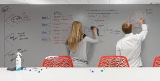 Ideapaint Interactive Whiteboard Office Interior Design Ideapaint Meeting