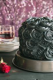 black cocoa u0026 raspberry cream layer cake the road to honey