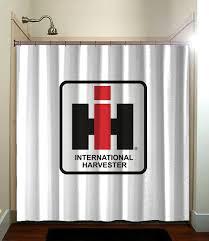 international harvester home decor fatboy studio printed waterproof polyester fabric shower curtain