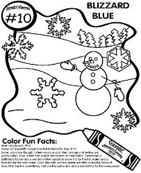 10 blizzard blue coloring crayola