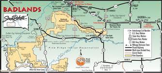 badlands national park map recovering from snake bite at badlands np