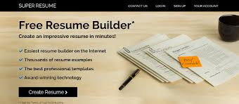 Resume Online Website Top 6 Best Online Resume Builder Themecot