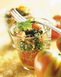 cuisine libanaise recette recette salade de tomates et de boulghour à la libanaise