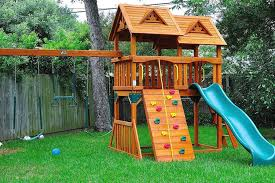 Backyard Play Structure by Springhasarrived And Your Kids Are Begging You For A Playground