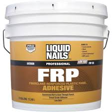 liquid nails frp panel adhesive frp310 3 5gal do it best