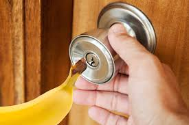 Howtobasic by How To Open A Locked Door With A Banana Youtube