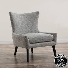 linen chairs sullivan grey linen chair tov furniture metropolitandecor