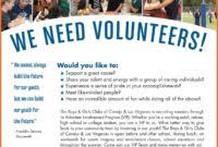 volunteer brochure template the best templates collection we will provide a lot of templates