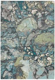 Turquoise Area Rug Art Carpet Arbor Grayteal Area Rug Reviews Wayfair Throughout Gray