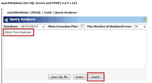 Delete Data From Table Delete Data Records From A Table 1 U00261 Help Center
