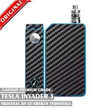 Original Garskin Skin Mod Vape Smoant Battlestar Carbon 3d jual original garskin skin mod vape tesla invader 3 carbon