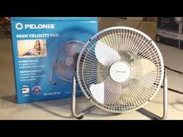 pelonis fan with remote unboxing pelonis 9 high velocity fan youtube