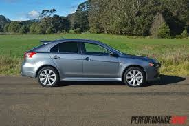silver mitsubishi lancer black rims 2013 mitsubishi lancer ralliart sportback review video
