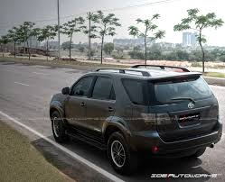 matte wrapped cars toyota fortuner satin matte black full car wrap ide autoworks