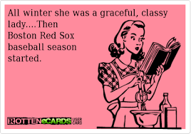 Red Sox Memes - all winter she was a graceful classy lady then boston red sox