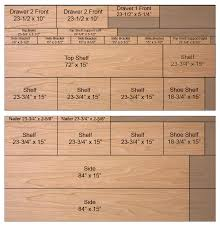 Plywood For Kitchen Cabinets by Diy Closet Organizer Plans For 5 U0027 To 8 U0027 Closet
