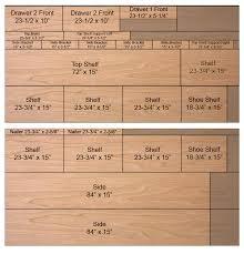 Closet Organizers Diy Closet Organizer Plans For 5 U0027 To 8 U0027 Closet