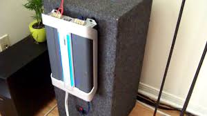 home theater subwoofer amp car sub in home theater youtube