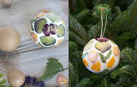 how to pressed flower globe ornaments the at terrain