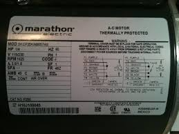 marathon electric motor wiring diagram gooddy org