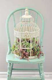 How To Make A Succulent Planter How To Plant Succulents In A Birdcage