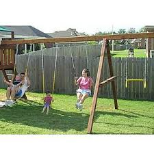 Swings For Backyard Swing Set Accessories For Wooden Swing Sets U0026 Playsets