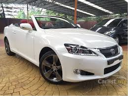 lexus is 250 convertible lexus is250 2012 luxury 2 5 in kuala lumpur automatic sedan white